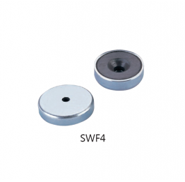 Ferrite  Pot Magnets Series SWF4