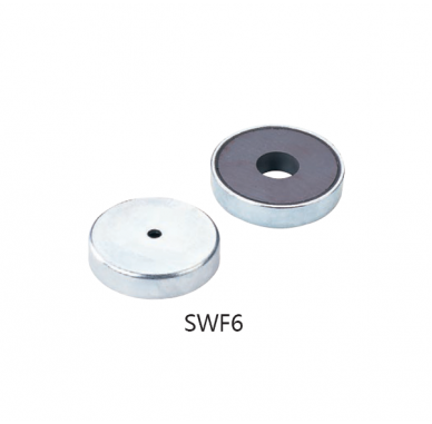 Ferrite  Pot Magnets Series SWF6