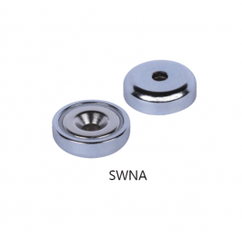 Neodymium Pot Magnets with Countersunk SWNA