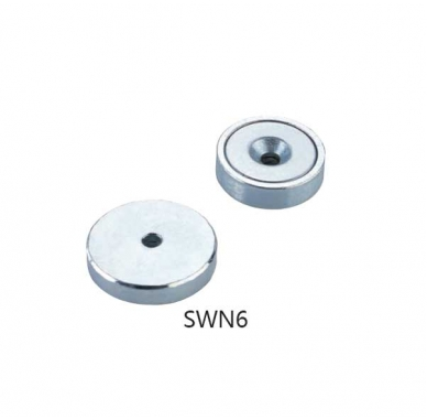Neodymium Pot Magnets with Countersunk SWN6